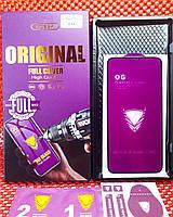Захисне скло iPhone X, XS, 11 Pro чорне Original (Full Cover) Screen Protector Premium