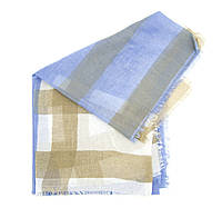Шарф Bruno Rossi 115120 см Разноцветный  CH117 brown-blue, КОД: 1469342