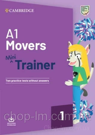 Fun Skills Movers Mini Trainer with Audio Download / Книга с тестами, фото 2