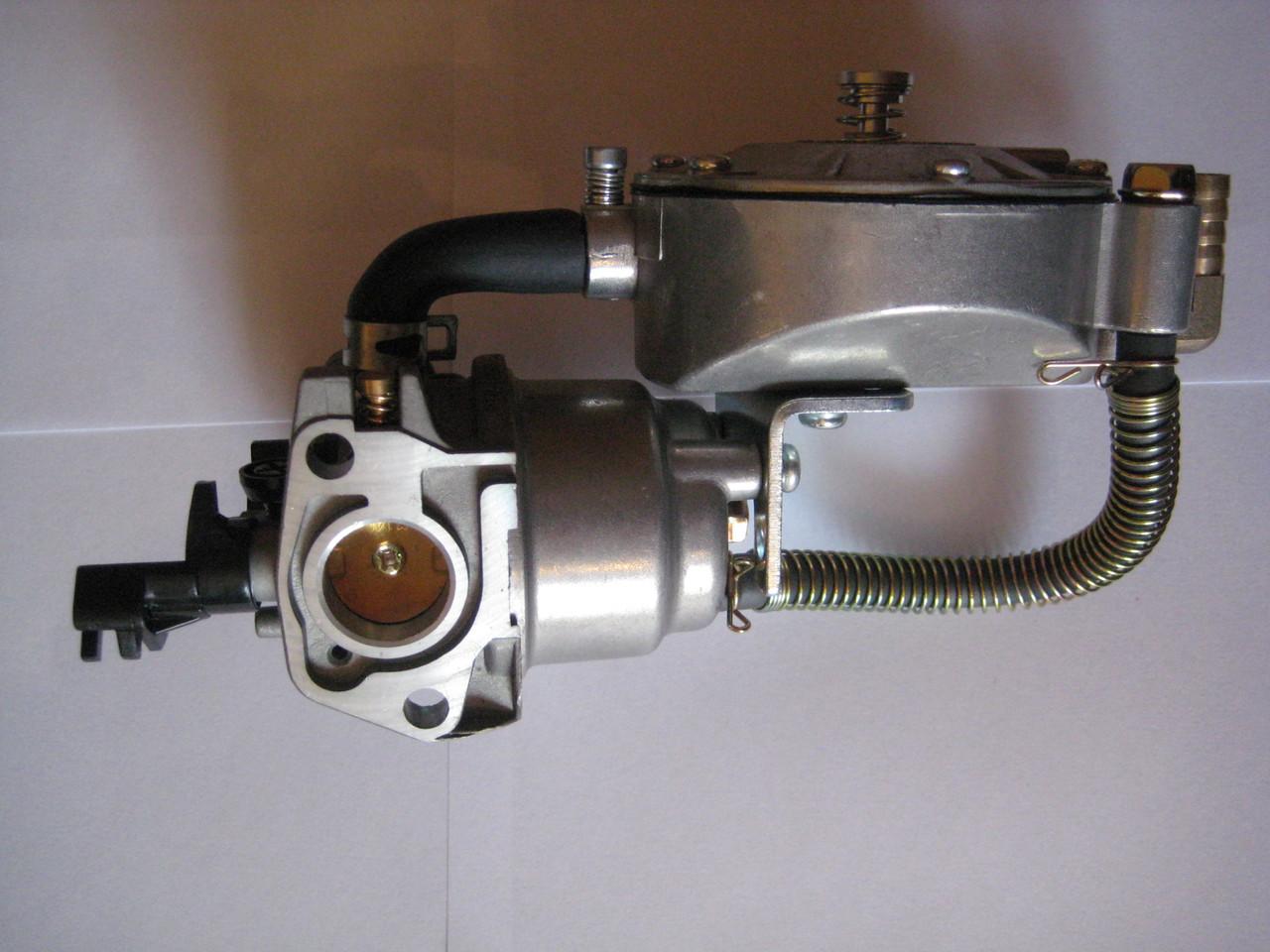 Карбюратор газ-бензин для бензогенератора (2-3.5кВт)