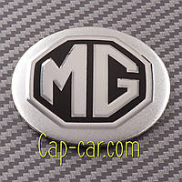 Наклейки для дисков с эмблемой MG. 56мм  Цена указана за комплект из 4-х штук
