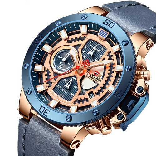 Naviforce NF9159 Blue-Cuprum