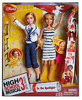 Набір ляльки Тіара і Шарпей Класний мюзикл В центрі уваги High School Musical 3 2007 Mattel