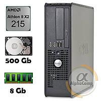 Компьютер Dell 580 (AMD Athlon II X2 215/8Gb/500Gb) БУ