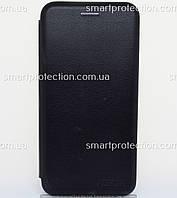 Защитный чехол книжка для Xiaomi A2 Lite черный, фото 1