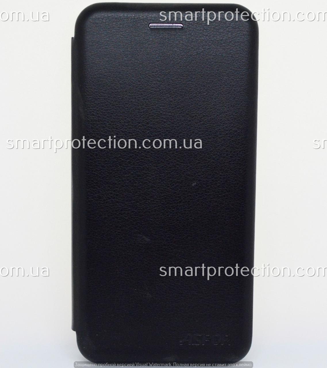 Защитный чехол книжка для Xiaomi A2 Lite черный