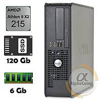 Компьютер Dell 580 (AMD Athlon II X2 215/6Gb/ssd 120Gb) БУ