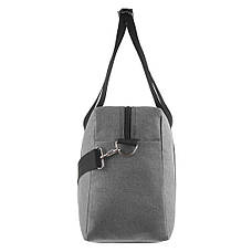 Дорожная сумка WALLABY 27х46х17 серая ткань полиэстер A44    в 2550сер, фото 3