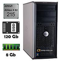 Компьютер Dell 580 (AMD Athlon II X2 215/8Gb/ssd 120Gb) БУ