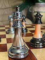 Шахматы подарочные Фигуры с камнем