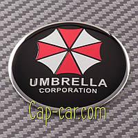 Наклейки для дисков с эмблемой Umbrella. 56мм   Цена указана за комплект из 4-х штук