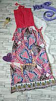 Платье сарафан Issa Plus длинный женский без бретелек
