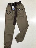 Детские, подростковые штаны джогеры для девочек, ткань коттон, рост 134,140,146,152,158 цвета разные