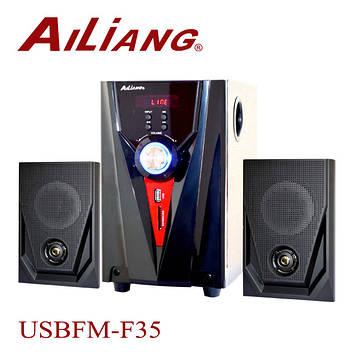 Акустическая система Ailiang USBFM-F35DC-DT с пультом ДУ
