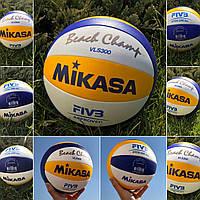 Оригинальный мяч для пляжного волейбола Mikasa VLS300