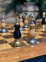 Эксклюзивные подарочные шахматы с выдвижными ящиками для фигур Корона