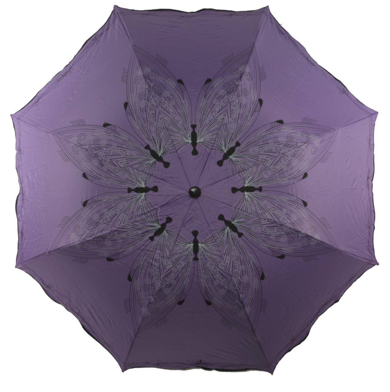 Женский симпатичный компактный прочный механический зонтик YuYing art. 1637