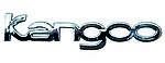 Эмблема монограмма надпись Renault Kangoo Рено Кенго Кенгу 7700310940 крышки багажника