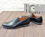 Туфли кожаные мужские от производителя, фото 4