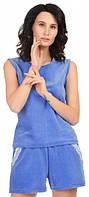 Пижама женская MODENA P062-3 XS Синий, КОД: 1585299