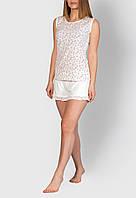 Пижама женская MODENA P007-2 S Белый, КОД: 1585458