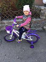 Детский двухколесный велосипед Kiddy 16дюймов Кидди CROSSER