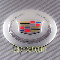Наклейки для дисков с эмблемой Cadillac. 56мм ( кадиллак )   Цена указана за комплект из 4-х штук