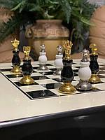 Эксклюзивные подарочные шахматы Корона White