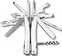 Удобный складной нож Victorinox Spirit Plus II 30239.L  серебристый