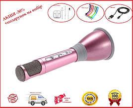 Микрофон караоке беспроводной и Bluetooth колонка 2 в 1