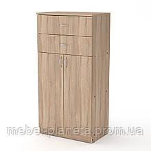 Шкаф маленький с ящиками КШ-14 Компанит, шкаф комод в спальню
