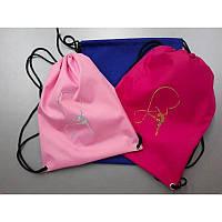 Детский рюкзак для тренировок розовый