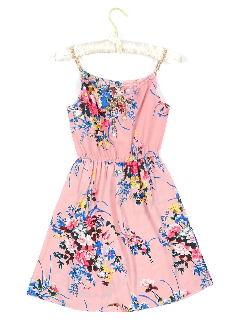 Женственное платье на весну-лето (42-44)