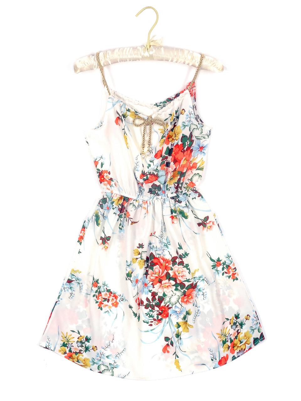 Приталенное женское платье тонкое (42-44)