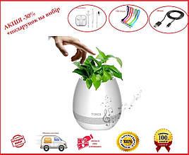Музыкальный цветочный горшок TOKQI K3 - Bluetooth, световое сопровождение