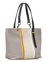 Стильная женская кожаная сумка в 2х цветах 16977A-WX, фото 1