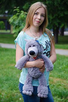 Плюшевый волк 48 см
