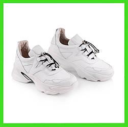 Высокие женские кроссовки белые  36-41 белый