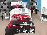 Комплект полуторный постельного белья Poplin Fast Track 160х220 (8698499144439), фото 3