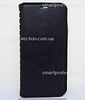 Чехол - книжка leather folio для Huawei Y6 Prime 2018 черный