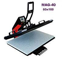 Термопресс планшетный 60x100 MAG-40 самооткрывающийся с выдвижной плитой