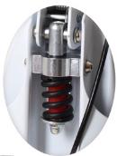 Самокат детский нагрузка 100 кг. Дисковый тормоз SR 2-018-3-W, фото 3