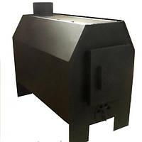 Отопительная печь Буржуй 2 8 кВт с варочной поверхностью