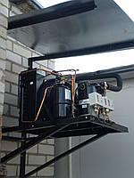 Холодильный агрегат для хранения, охлаждения и заморозки мяса
