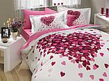 Комплект постельного белья двуспальный Poplin Juana 200x220 (8693678546820), фото 2