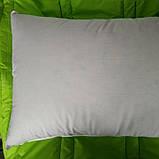 Пуховая, натуральная, мягкая,  невысокая  подушка 50×70, фото 9