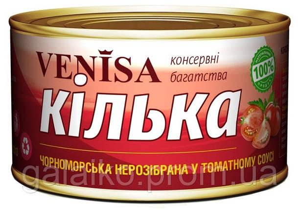 "Килька черноморская в т/с №5 ""Venisa""240гр (48), фото 2"