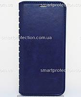 Защитный чехол-книжка для Huawei Y6 Prime 2018 синий