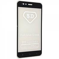 Защитное стекло Glass 5D Full Glue Triplex Xiaomi Mi 5x Mi A1 Черный 103416, КОД: 1597758