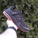 Мужские спортивные кроссовки Nike Air Presto чёрные с оранжевым Реплика хорошего качества, фото 9